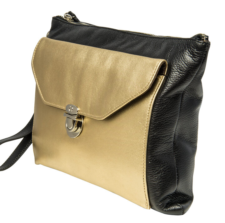 Black Gold Clutch